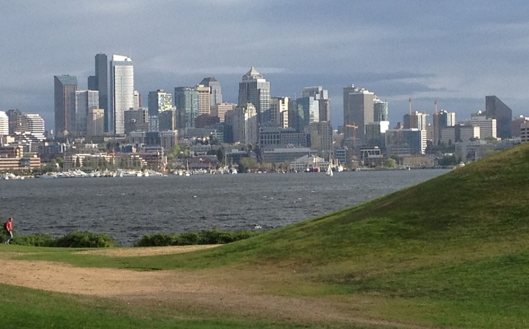Skyline from Gasworkd